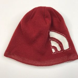 The North Face Red Beanie Warm Hat Cap